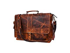 Leather Portfolio Bag for Laptop