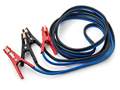 Jumper Cables, 500-Amp, 4-Gauge