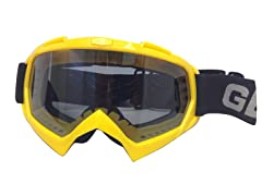 Youth Off-Road Goggles - Yellow
