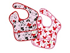 Minnie Icon SuperBib 2-Pk