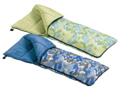 Wenzel YouthCamou Sleeping Bags 2-Colors