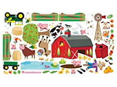 Peel & Play Combo Set - Farm/Animals