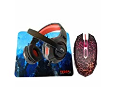 Tegrax 3-in-1 Gaming Combo