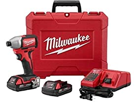 Milwaukee M18 Brushless Impact Driver Kit