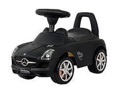 Matte Black - Mercedes SLS Push Car