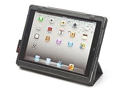 Folio for iPad 2/3/4 - Black-stone