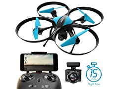 Force1 U49W Blue Heron Wifi FPV Drone