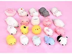 Adorable Mini Squishys - Pack of 20 pcs.
