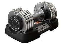 Bayou Fitness 50 lb Adjustable Dumbbell