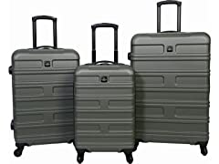 Sharper Image Search Hardside Luggage Set - Beetle