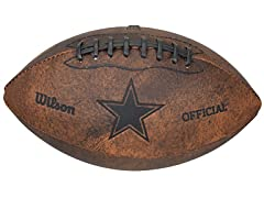 NFL Throwback Footballs