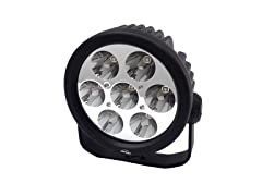 6-Inch 10-Watt 7-LED Round Spot Light