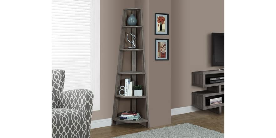 Corner accent etagere 2 colors for Accent tree for corner of house