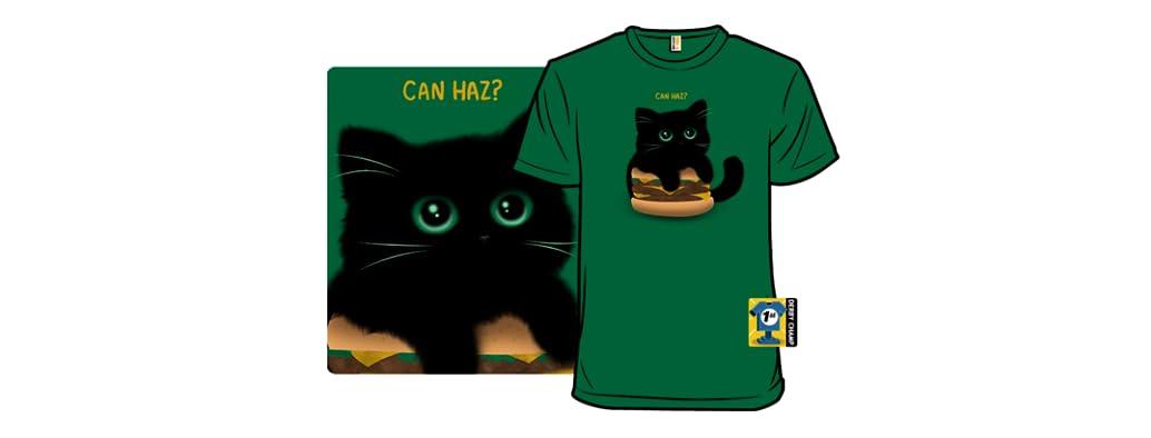 Cheeseburger Cat