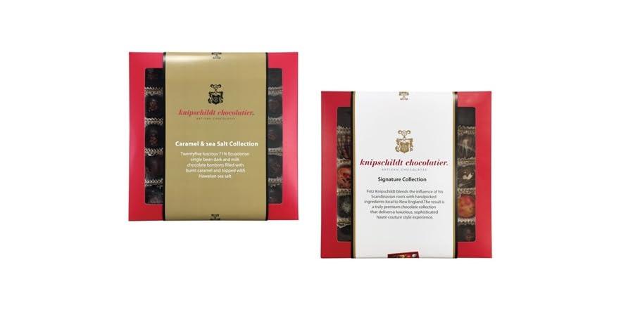 Knipschildt Chocolatier 25 Piece Collection, Your Choice   WOOT