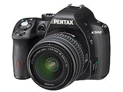 Pentax K-500 16.3MP DSLR Camera