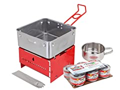 Sterno Camp Stove Kit with 6-Pack Fuel