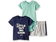 Carters Boys 3 Piece Little Short Sets