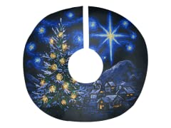 """O' Starry Night"" Tree Skirt"