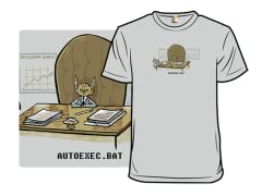 """Autoexec.bat"" T-Shirt"