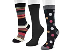 3-Pair Fun Pack Crew Socks