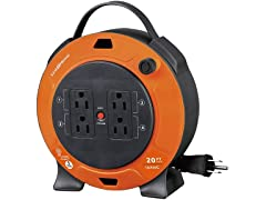 Link2Home 20' Extension Cord Reel