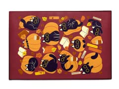 Cats, Pumpkins and Books 3' x 2' Rug