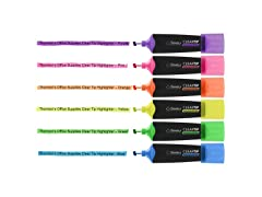 12 ClearTip Highlighters, Chisel
