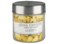 Glass Jar Round Small