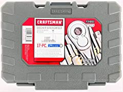 Craftsman 17-Piece Socket Wrench Set