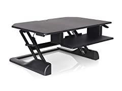 "Ergotech Freedom Desk, 36"" Height Adjustable Standing Desk"