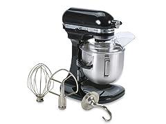 KitchenAid Heavy Duty 5Qt Mixer - Black