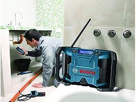 Bosch 12V Li-Ion Compact Jobsite Radio