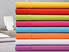 Premier Colorful Microfiber Sheet Sets