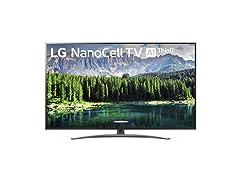 "LG Nano 8 Series TV, 75"" 4K UHD Smart LED"