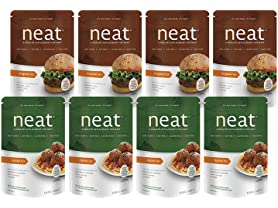 Neat Vegan Meat Replacement Mixes (8)