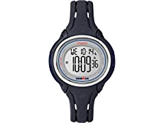 Timex Wmns Mid-Size Ironman Sleek 50 Silicone Strap Watch
