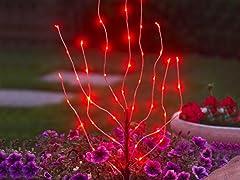 Anywhere LED Branch Light, Red