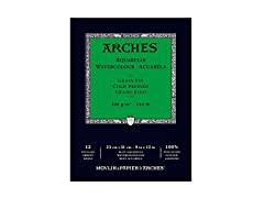 Arches CP Watercolor Pad 12 Sheets