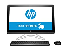 "HP 24"" Touch All-in-One AMD A9 Desktop"