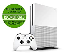 Xbox One S 500GB  (Certified Refurbished), White