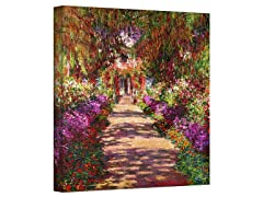 Monet Pathway Monet's Garden (2 Sizes)