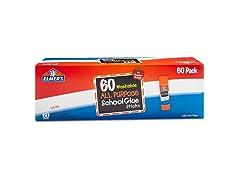 Elmers All Purpose Glue Sticks - 60 Count