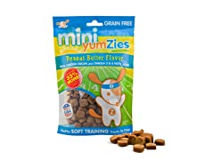YumZies Mini Natural Peanut Butter