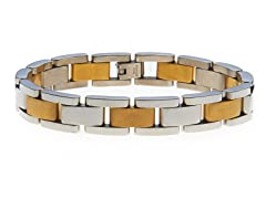 14k Gold Plated Classic Link Bracelet
