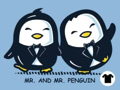 Mr. and Mr. Penguin