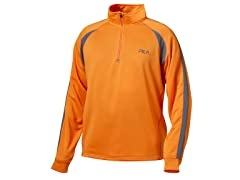Fila Match 1/4 Zip - Orange (Med)