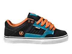 DVS Ignition CT - Blk/Org Suede (Youth)