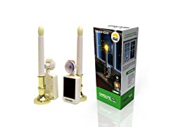 Carolite Pro Solar LED Flameless Candle