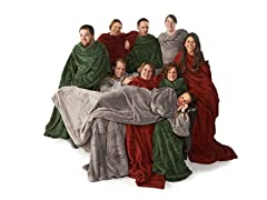 2pk Ultimate Blanket with Sleeves-3 Colors